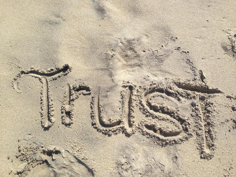 La confiance, un point sensible des relations humaine